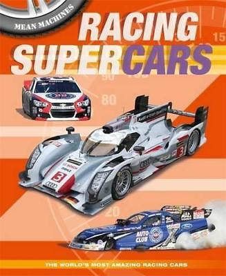 Racing Supercars (Mean Machines), Harrison, Paul, Good Condition Book, ISBN 1445