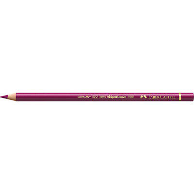 Faber-Castell (Single) - Polychromos Artists' Pencil Middle Purple Pink (125)