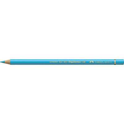Faber-Castell (Single) - Polychromos Artists Pencil Light Cobalt Turquoise (154)