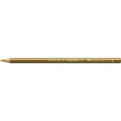 Faber-Castell (Single) - Polychromos Artists' Pencil Green Gold (268)