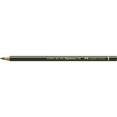 Faber-Castell (Single) - Polychromos Artists Pencil Chromium Green Opaque (174)
