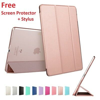 New Smart Magnetic Leather Stand Case Cover for All iPad Models