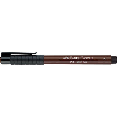 Faber-Castell (Single) - Pitt Artist Pen Superfine Sepia (175)