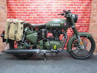Royal Enfield Classic Efi E4 Pegasus Olive Green Last One Cancelled Order