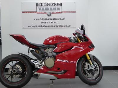 12 Reg Ducati Panigale S 1199 4773 Miles 1 Previous Owner Immaculate