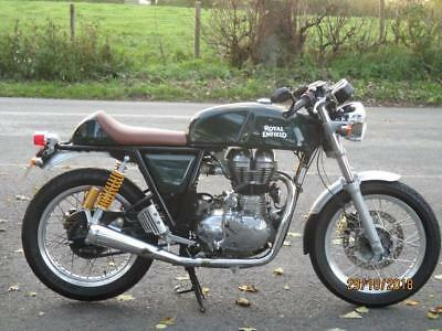 Royal Enfield Continental Gt, 2018, 2001 Miles.