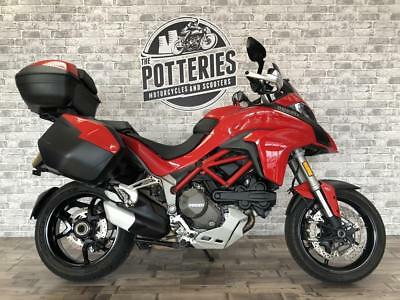 Ducati Multistrada 1200S touring 2016 1 owner from new