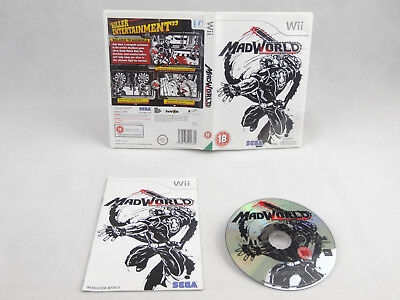 Mad World Nintendo Wii Complete PAL
