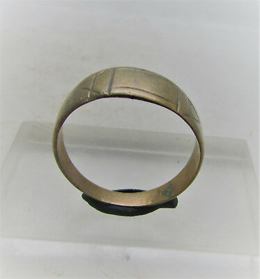 Late Byzantine - Early Medieval Bronze Finger Ring