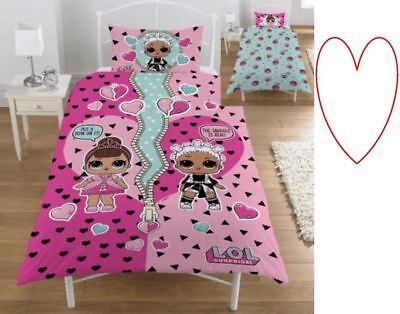 Childrens LOL Bedding Duvet Set Surprise Dolls Bedroom  Gift