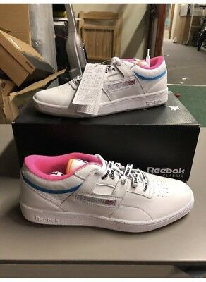 03bb4914ecb3d PALACE CLUB WORKOUT reebok WHITE Size  8 US  REAL IN HAND -Brand New ...