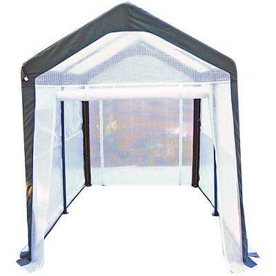 Backyard Greenhouse Gardener Patio 6' x 8' x 7' Vegetables Herbs Plants Sturdy