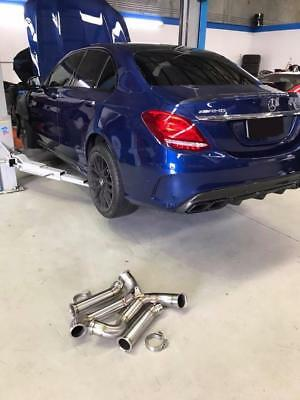 Downpipes Mercedes C63 C63S w205 AMG Made in Holland by Brondex Motorsport