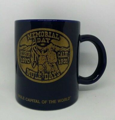 Mule Days: Bishop, California Coffee Mug: 1970-1991: Memorial Day
