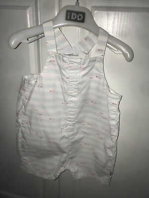 2 Pairs Of Baby Boys Vertbaudet Dungarees 18 Months