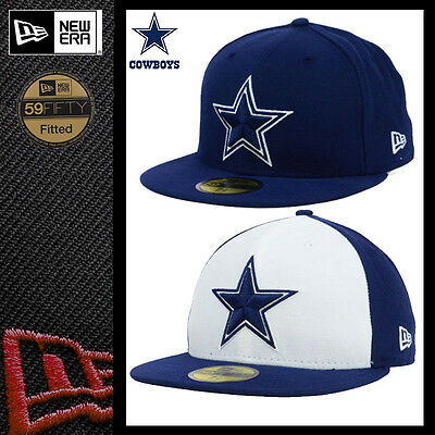 check out a439c 18d53 Nwt Nfl New Era 59Fifty Sideline Fitted Cap Hat - Dallas Cowboys All Sizes