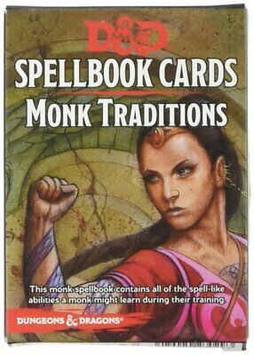 D&D : Monk Traditions (19 Cards) - 73913