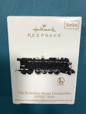 Hallmark Lionel 2011 Train Ornament 726 Berkshire Steam Locomotive