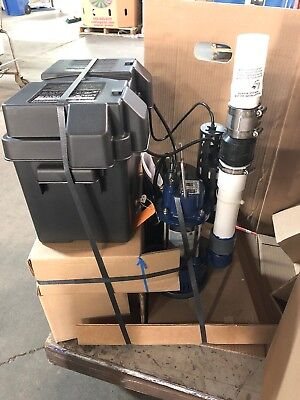 PHCC Pro Series PS-C33 3000 Gallons Per Hour 1/3 HP Combination Sump Pump System