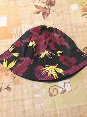 Men Bush Bucket Boonie Hat Fishing Sun Beach Hat Cap Floral H M - size L - 5e7d7a471f86