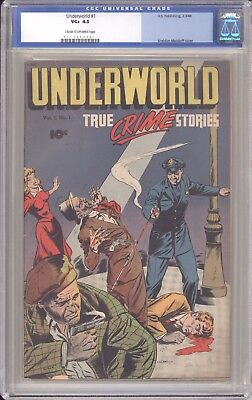 Underworld #1 CGC 4.5 (DS Pubs, 1948) 1st issue Sheldon Moldoff cover 0113444001