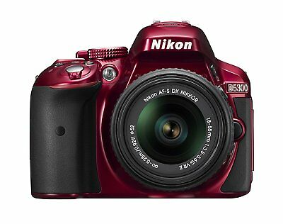 Nikon D5300 Digital SLR Camera and 18-55mm Lens Included- RED (2504)