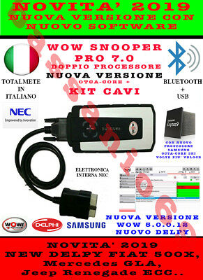 Diagnosi Auto Professionale Wow Delpy 8 Core Snooper Auto Truck Banca Dati