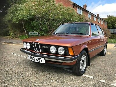 Bmw 320 Automatic  E21 ,1 Owner Lady Owner From New 79,000 Miles Only