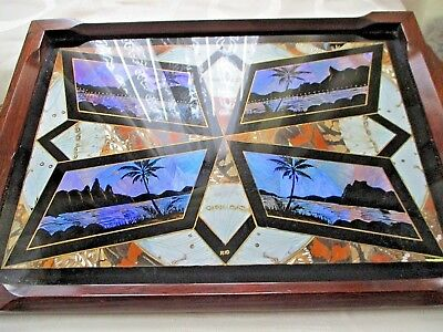 Lovely Vintage Butterfly Wing Tray,please L@@k