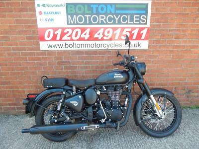 Royal Enfield Special Edition Classic Sealth Black 500