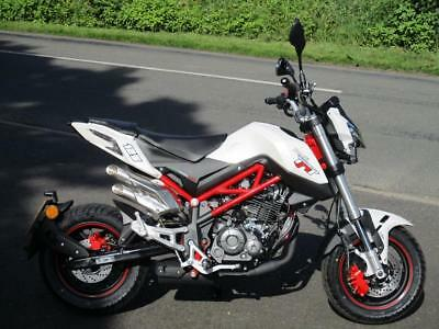 Benelli Tnt 125, New And In Stock At Kjm