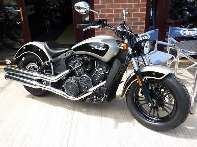 INDIAN SCOUT SIXTY 2-TONE BRAND NW 2017 MODEL for 2019 REG