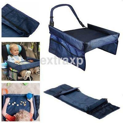 Portable Safety Kids Car Seat Travel Tray Activity Playing Drawing Board Table U
