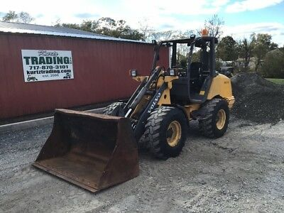 2012 Volvo L25FP 4X4 Compact Wheel Loader!
