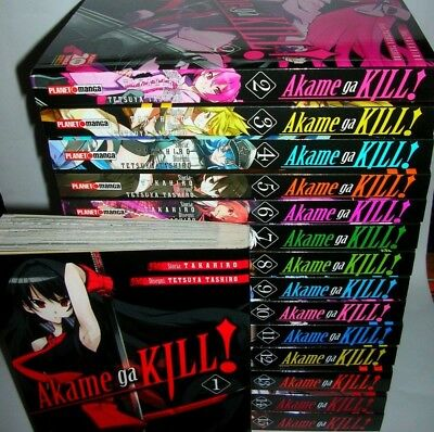 AKAME GA KILL  1 / 15  - PLANET MANGA ( 1/9 ristampa - 10/11 originale 1° )