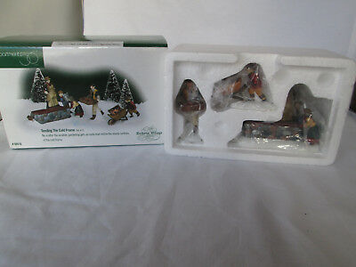 New Dept 56 Dickens' Village Accessories Set of 3 - Tending The Cold Frame #5841