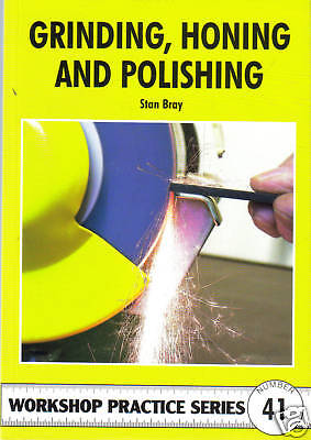 GRINDING HONING & POLISHING Workshop Practice Engineering Manual paperback book