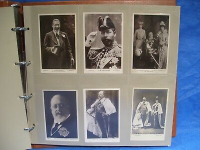 Lot Of (90) Vintage Postcards Rppc English Royal Family Queen Mary King George