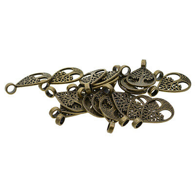10x Branch Charms Pendants Jewelry Making Findings Embellishment 7.3x2.5cm