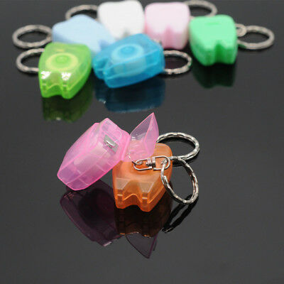 Dentist Gift Portable Teeth Keychain Dental Floss For Teeth Cleaning Oral Care