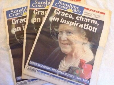Queen Mother Newspaper Special Edition 2002