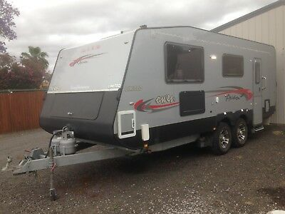 2014 20Ft Avan Owen Limited Dual Axle Of Road Caravan