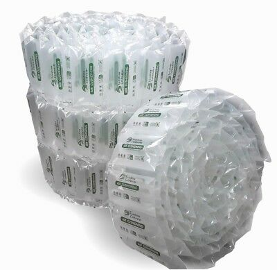 """SunshineColdwater Air Pillows Cushions 8x4"""" Shipping Packing Packaging Void Fill"""