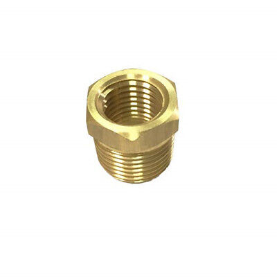 "whitworth Brass Pipe Fitting Hex Bushing 3/4"" Male x 1/2"" Female threaded Pipe"