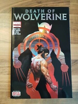 Death of Wolverine - Issue # 1 (of 4) - Marvel Comics - 2014 - NM/VF