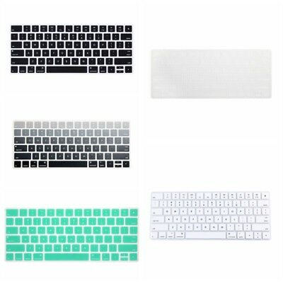 US Clear Protector Laptop Silicone Keyboard Skin Cover for Apple Magic Keyboards