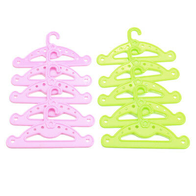 18 Inch Doll Clothes Accessory 10 Piece Hangers Made For American Girl Dolls