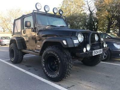 2004 Jeep Wrangler 4.0 Extreme Sport Soft top 4x4 3dr