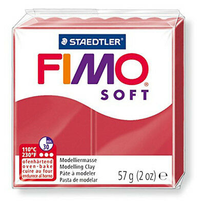 Staedtler - Fimo Soft 57g, Cherry Red