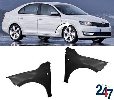 New Skoda Rapid 2012 - 2016 Front Wing Fender Left N/S Right O/S Pair Set